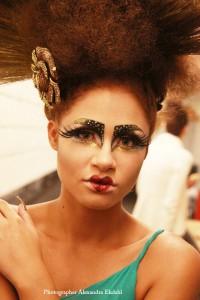 Photographer Alexandra Ekdahl Fotograf Stockholm Make up store makeupstore show spellbound event fashion 2012 20081018_0014