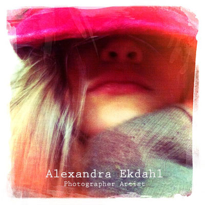 Photographer Alexandra Ekdahl Artist fairy h etherial red hat girl