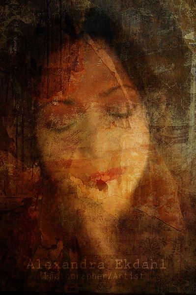Photographer Artist Alexandra Ekdahl Stockholm Sweden India photosbyalexandra Nillufar digital artist art woman face