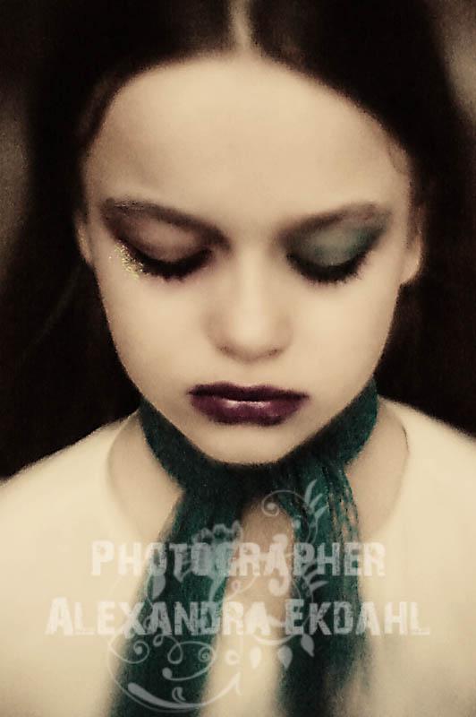 Photographer Alexandra Ekdahl Fotograf Stockholm Sweden Art portrait porträtt