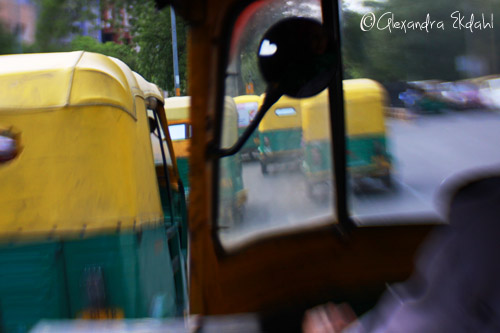India new Delhi Taxi photographer Alexandra Ekdahl Auto Rickshaw