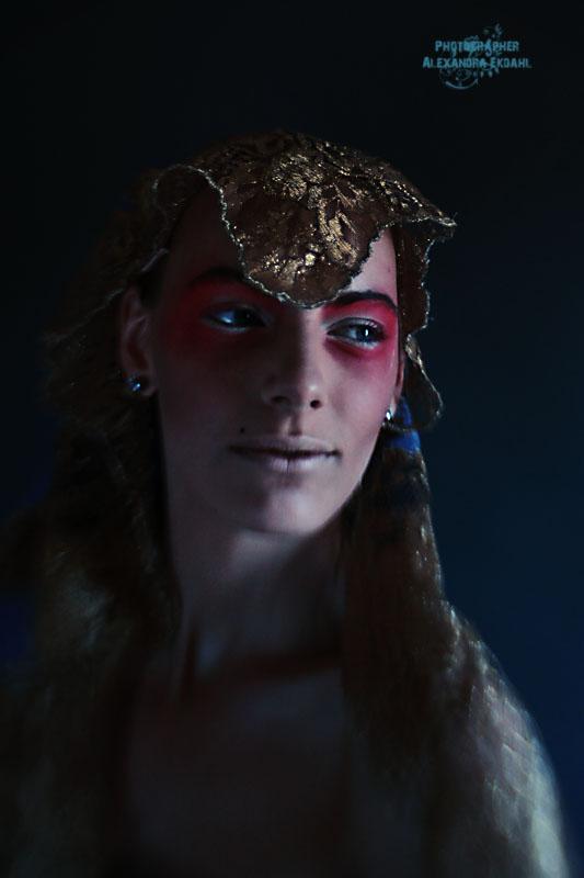 Photographer Alexandra Ekdahl Fotograf Stockholm Amelia Cazorla makeup 2