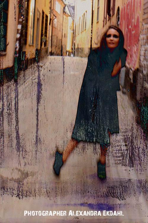 Photographer Alexandra Ekdahl Stockholm. Dress by Loni Model Maria 1