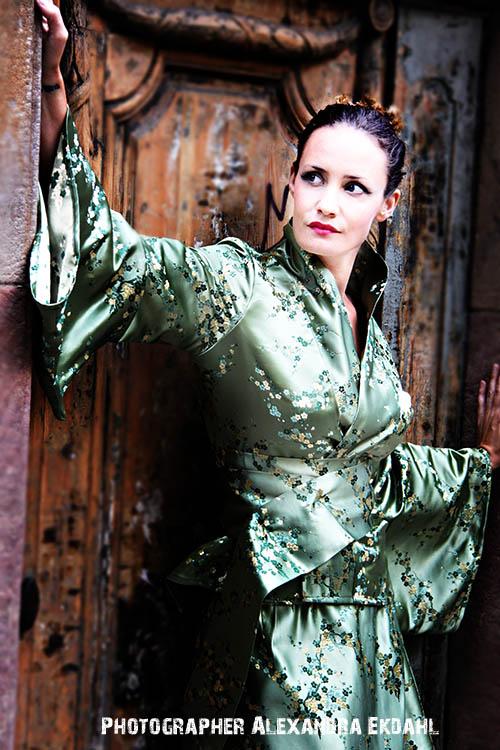 Photographer Alexandra Ekdahl Stockholm. Dress by Loni Model Maria 4