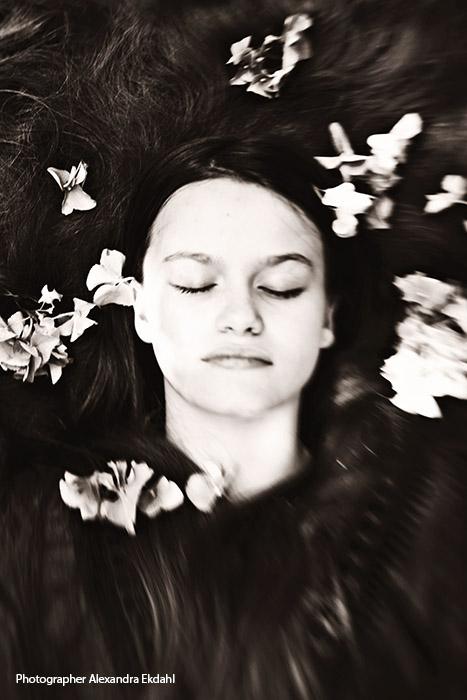 photographer Alexandra Ekdahl model Älva Ekdahl model modell stockholmsgruppen portrait porträtt